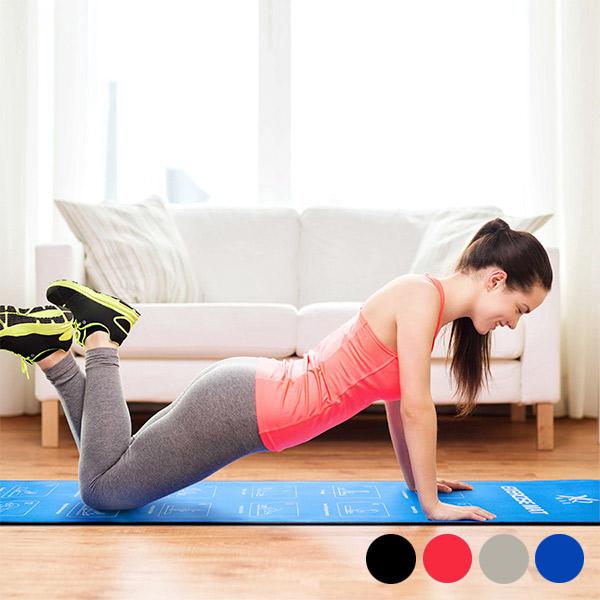 Esterilla Fitness con Ejercicios Sport Xpert