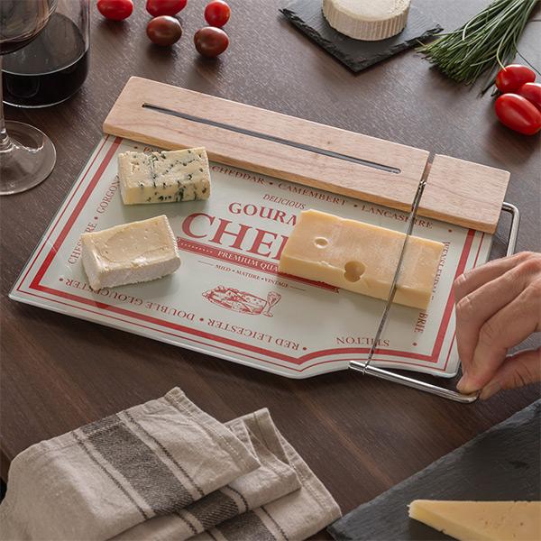 Tabla de Cocina con Cortador para Quesos Bravissima Kitchen