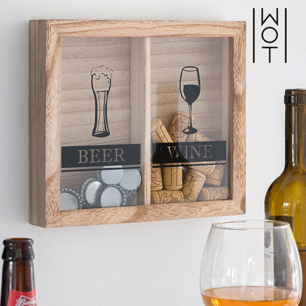 Stenska Dekoracija za Zamaške Beer & Wine Wagon Trend