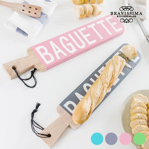 Tabla de Cocina Vintage para Pan Baguette Wagon Trend