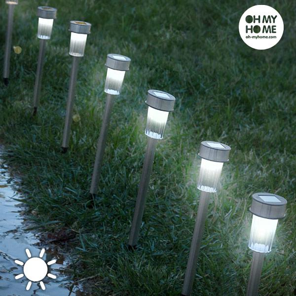 Lámparas Solares Torch Garden Oh My Home (pack de 7)