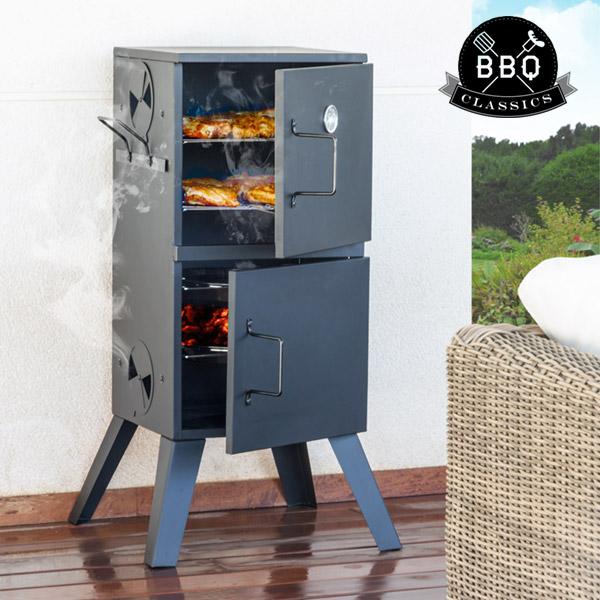 Ahumador a Carbón Vertical BBQ Classics