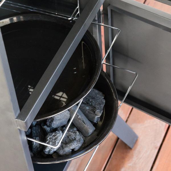 Ahumador a Carbón Vertical BBQ Classics (4)