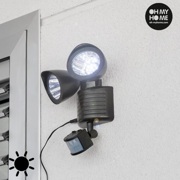 Lámpara Solar con Sensor de Movimiento Oh My Home