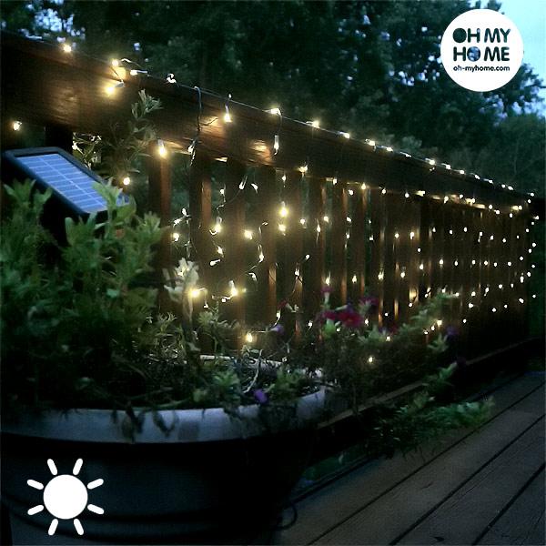 Guirnalda de Luces Solar Oh My Home (50 LED)