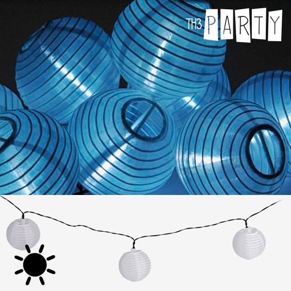 Guirnalda Solar con Farolillos Blancos Th3 Party (10 LED)
