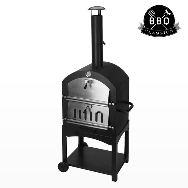 Barbacoa de Carbón con Horno de Piedra BBQ Classics 1864VA