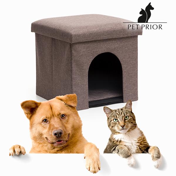Casa Plegable y Asiento para Mascotas Pet Prior