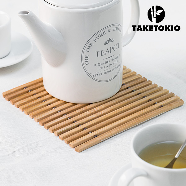 Sottopentola Flessibile di Bambù TakeTokio