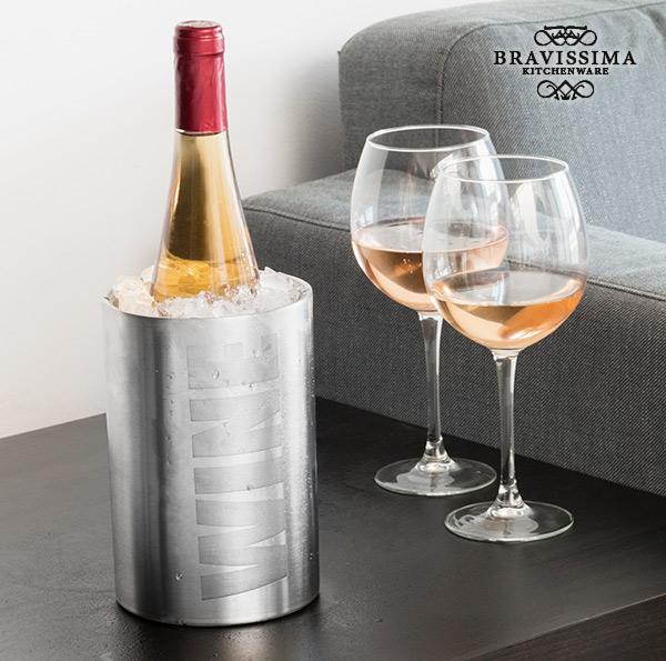Raffredda Bottiglie Inox Wine Bravissima Kitchen