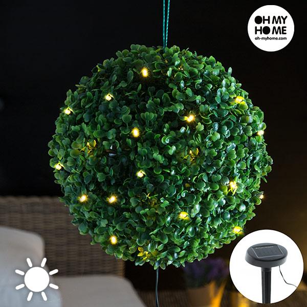 Lampada Solare Arbusto Oh My Home (20 LED)