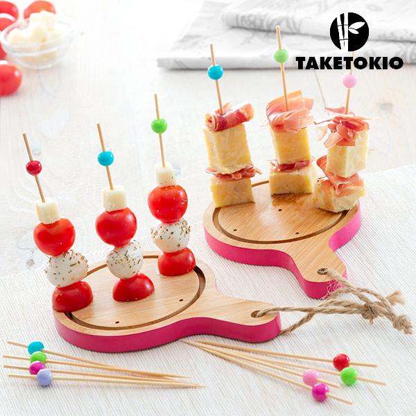 Set di Bamb� per Tapas Mini Taglieri TakeTokio (16 Pezzi)