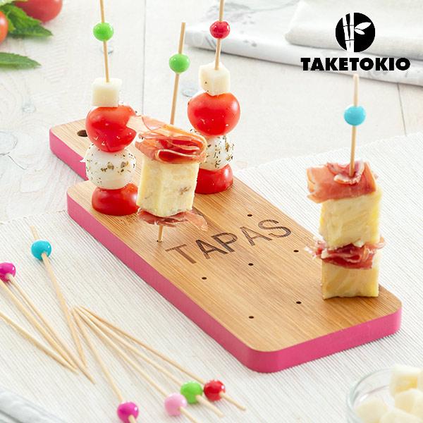Set di Bamb� per Tapas Tagliere TakeTokio (16 Pezzi)