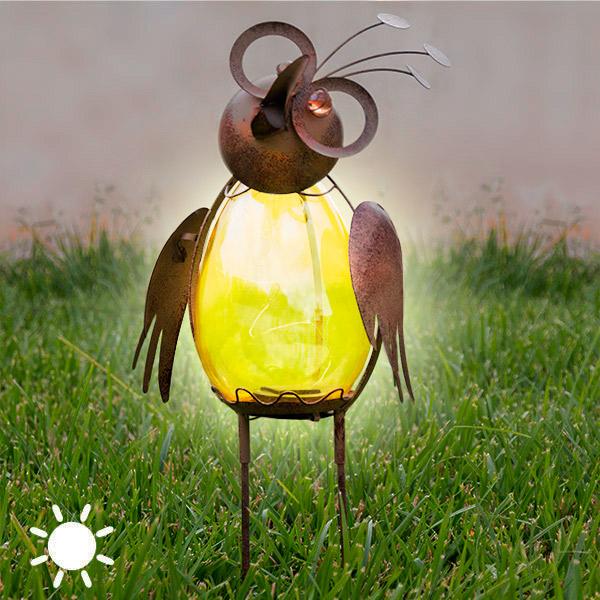 Lámpara Solar Decorativa Bird Oh My Home
