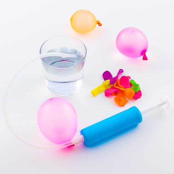 Globos de Agua con Bomba de Llenado Junior Knows (pack de 30)