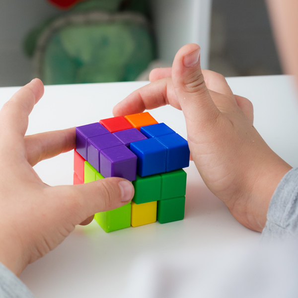 Puzzle Cubo Junior Knows (7 piezas)