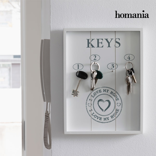 Portachiavi da Parete I Love My Home by Homania