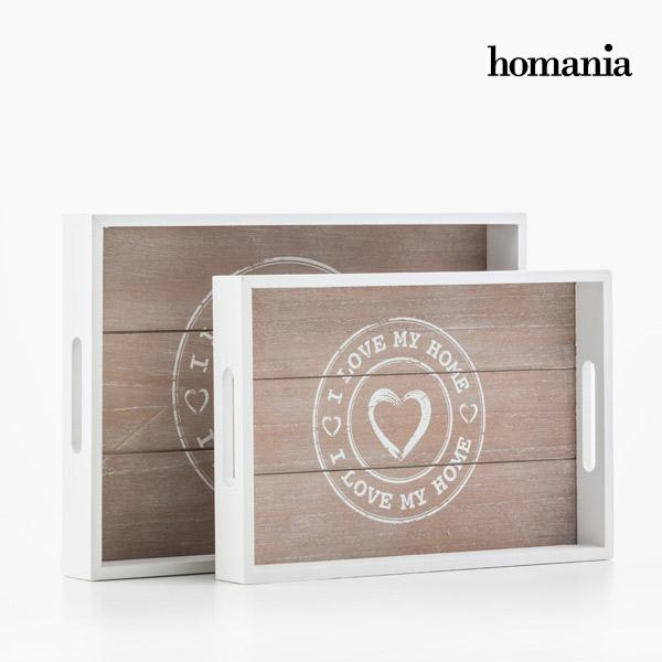 Bandejas I Love My Home by Homania (pack de 2) (1)