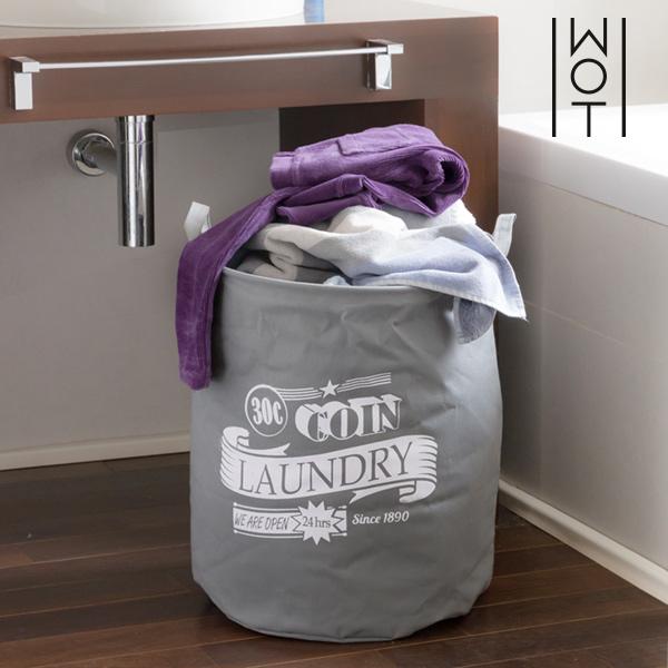 Bolsa para Ropa Sucia Grey Laundry Wagon Trend