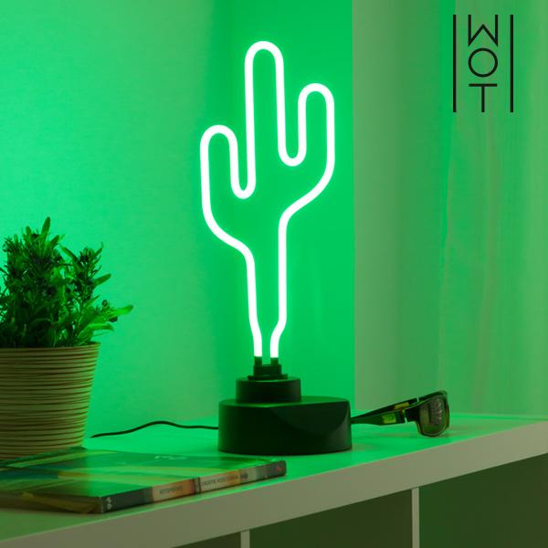 Lámpara de Neón Cactus Wagon Trend 6W