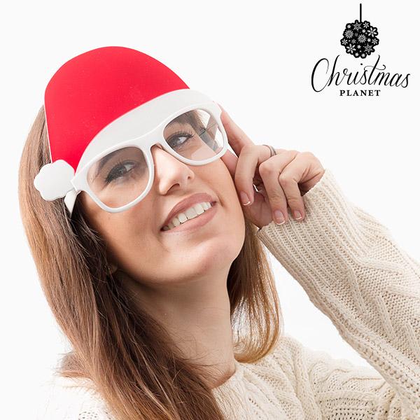 Occhiali con Cappello di Babbo Natale Christmas Planet