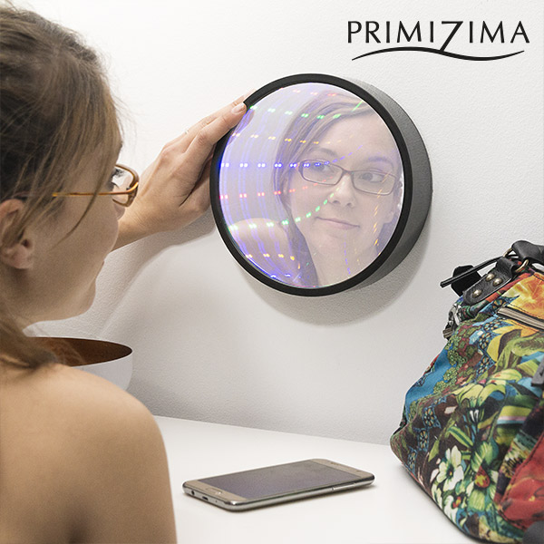 Espejo Túnel LED Multicolor Primizima