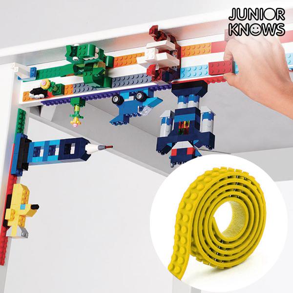 Cinta Adhesiva Amarilla para Construcciones Magic Junior Knows