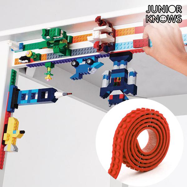 Cinta Adhesiva Roja para Construcciones Magic Junior Knows