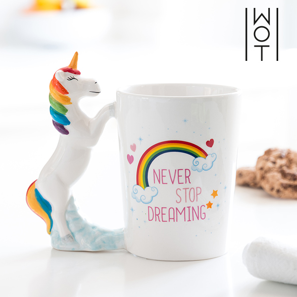 Tazza Unicorno Never Stop Dreaming Wagon Trend