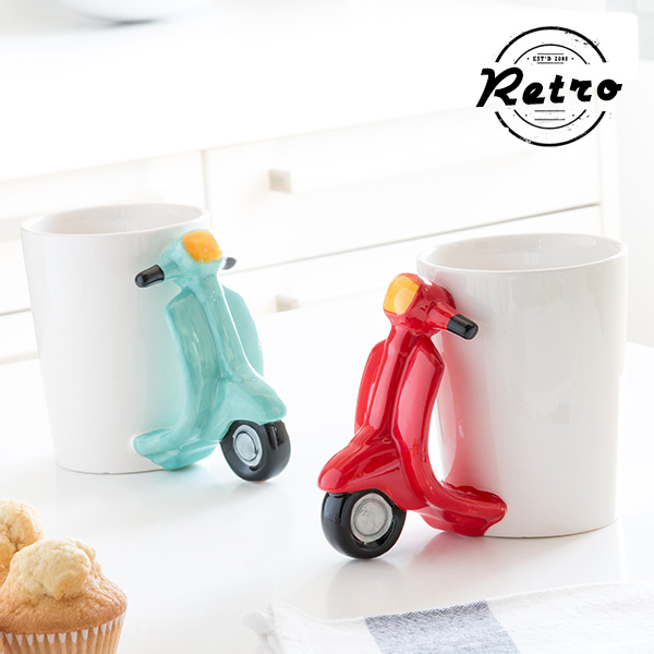 Tazza Scooter Retrò