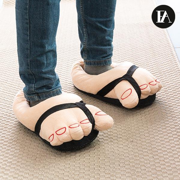 Pantofole Morbide Piedi con Sandali Fashinalizer