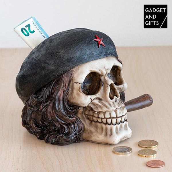 Salvadanaio Teschio Libertador con Sigaro Gadget and Gifts