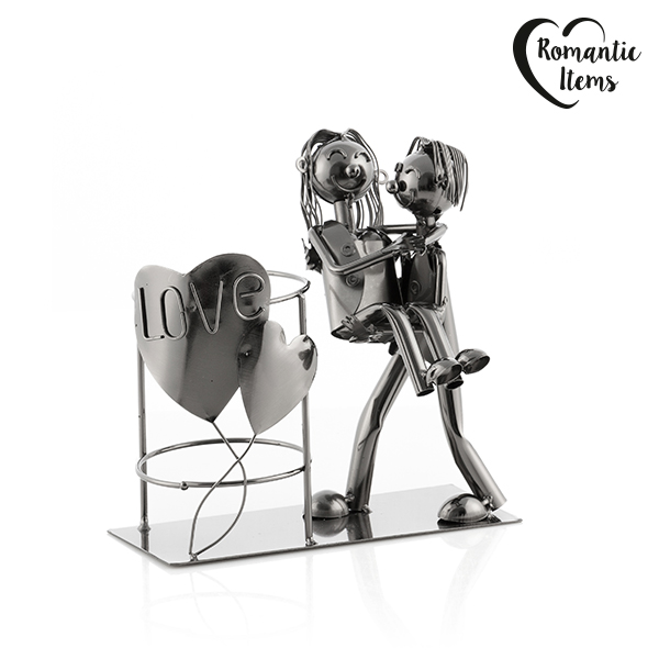 BOTELLERO METáLICO LOVE ROMANTIC ITEMS