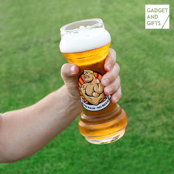 Bicchiere da Birra No Pain No Beer Gadget and Gifts