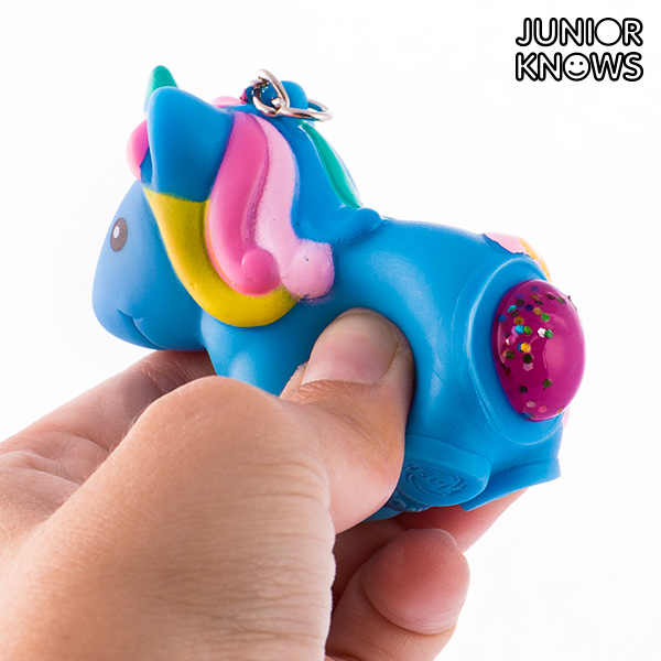 Portachiavi Squeeze Unicorno Junior Knows