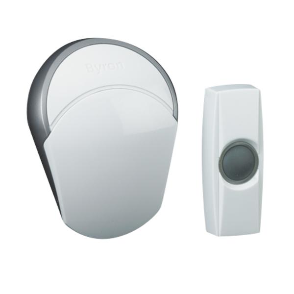 Timbre Inalámbrico con Pulsador Smartwares BY502E
