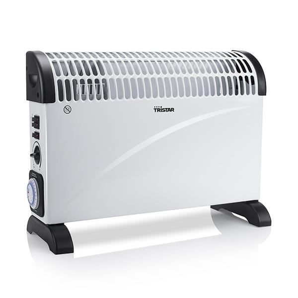 Calefactor Eléctrico de Convección Tristar KA5914 2000W Blanco Negro