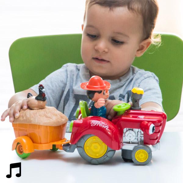 Traktor za Izogibanje Oviram z Lučko in Zvokom