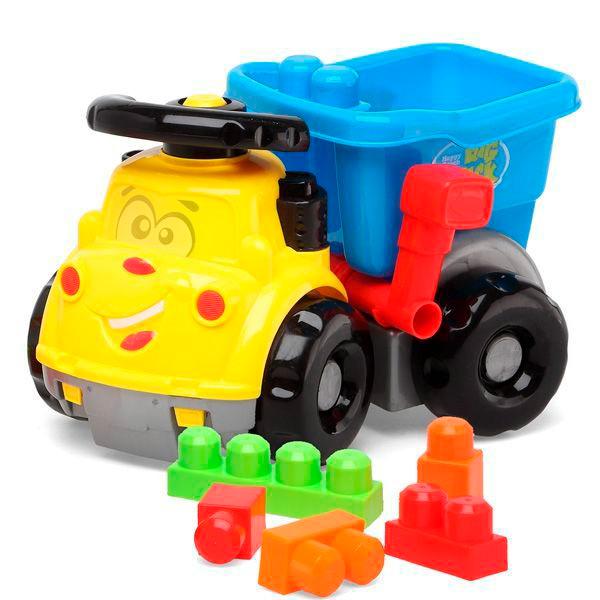 Camión Volquete con Bloques de Construcción Junior Knows