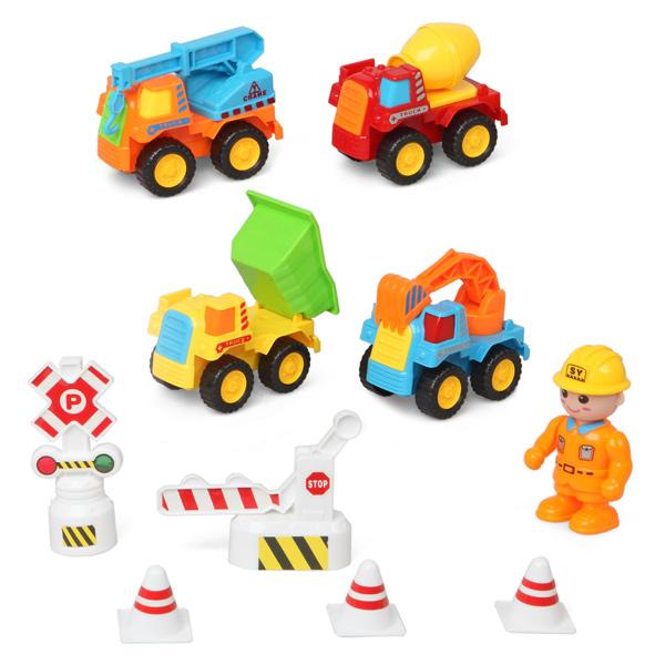 Vehículos de Construcción con Accesorios Junior Knows