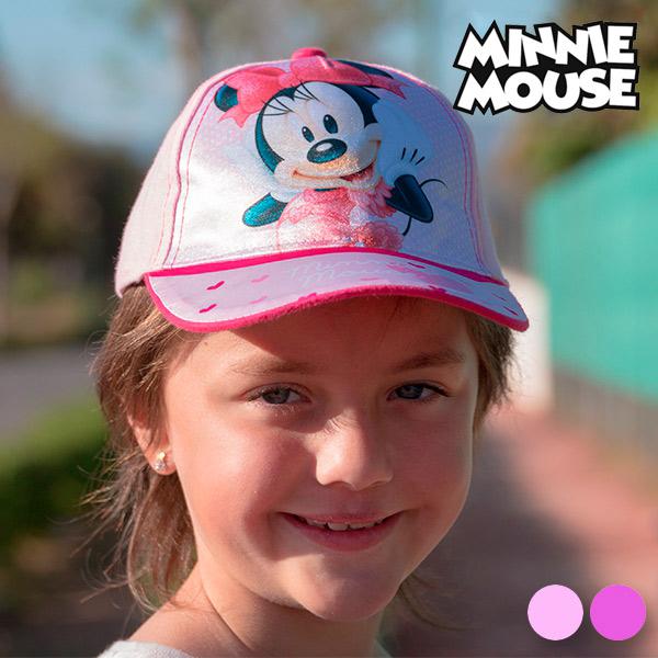 Otroška Kapa Minnie Mouse - Roza