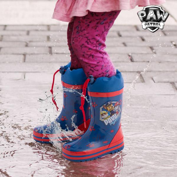 Modri Gumijasti Škornji Tačke na Patrulji - 31