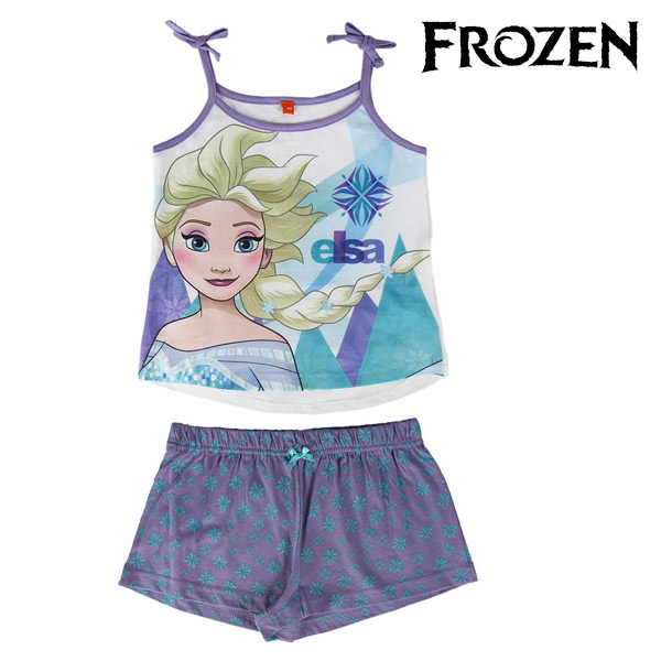 Pijama de Verano para Niñas Frozen
