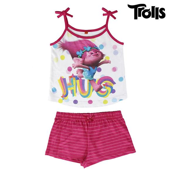 Pijama de Verano para Niñas Trolls