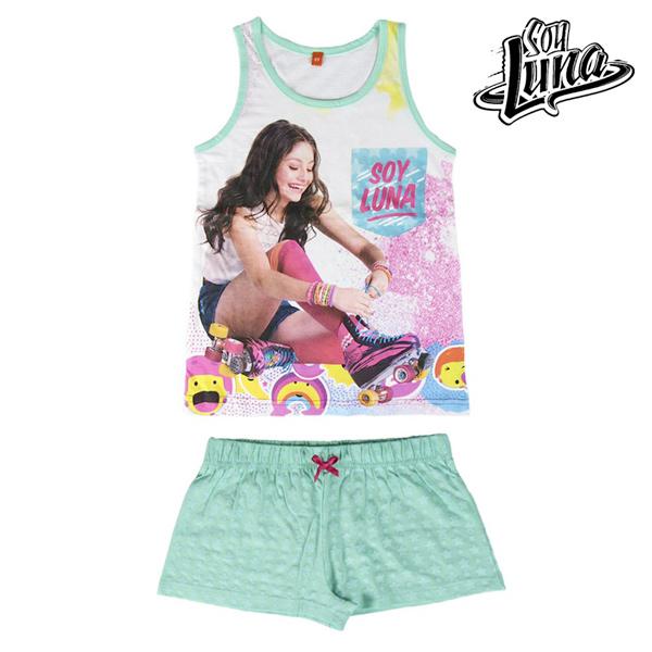 Pijama de Verano para Niñas Soy Luna