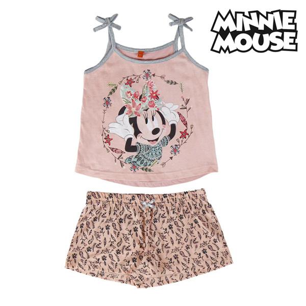 Pijama de Verano para Niñas Minnie