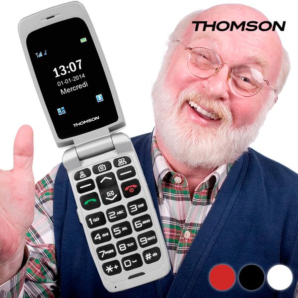 Mobilni Telefon Thomson Serea62 - Črna