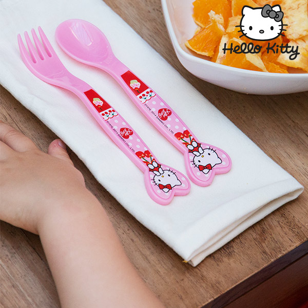 Tenedor y Cuchara Hello Kitty