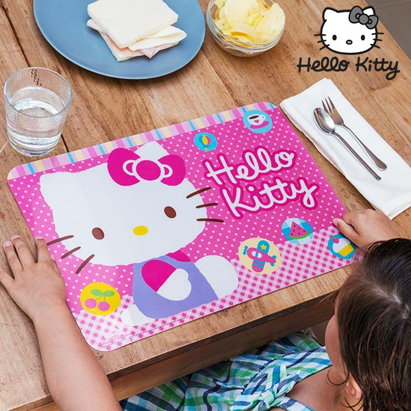 Salvamanteles Hello Kitty