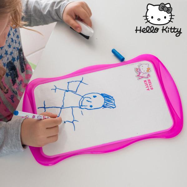 Bela Dvostranska Tabla Hello Kitty